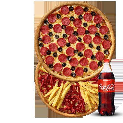 2'li Orta Boy Pizza Menü